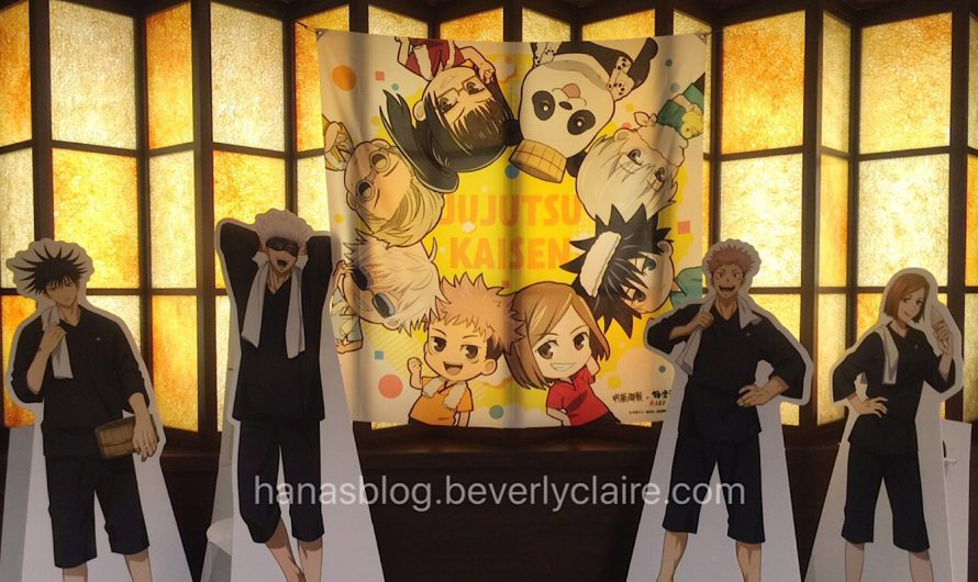 Jujutsu Kaisen Event Review – Raku Spa Collaboration with Special Food Menu and Onsen-Themed Merchandise