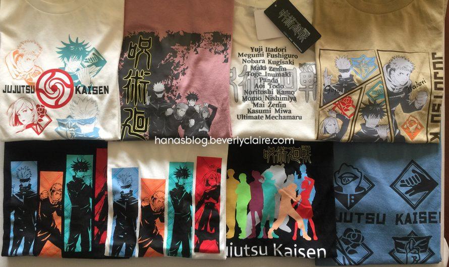 Jujutsu Kaisen Merchandise – Aeon Doublefocus Cotton T-Shirts Product Review