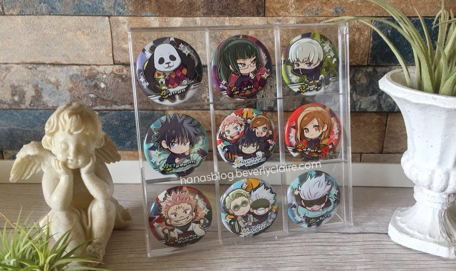 Jujutsu Kaisen Merchandise – Charabanchōkō Pinback Buttons by Stand Stones for Gacha Capsule Toy Stores