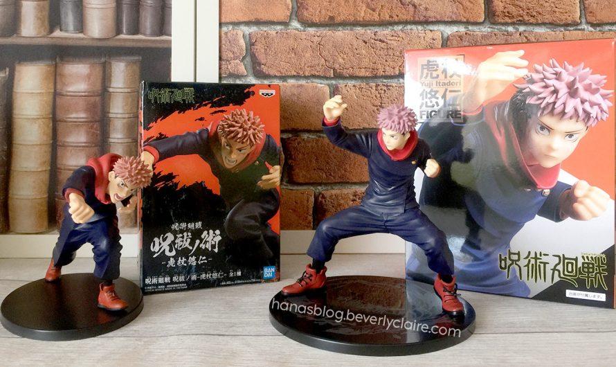 Jujutsu Kaisen Merchandise – Yuji Itadori Bandai and Taito Figure Prizes at the Game Center